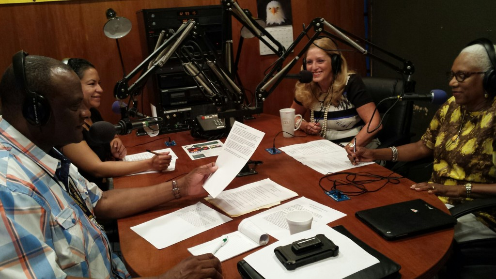 Charles R. Drew Radio Interview with Dr. Kathryn Icenhower and Norma Mtume